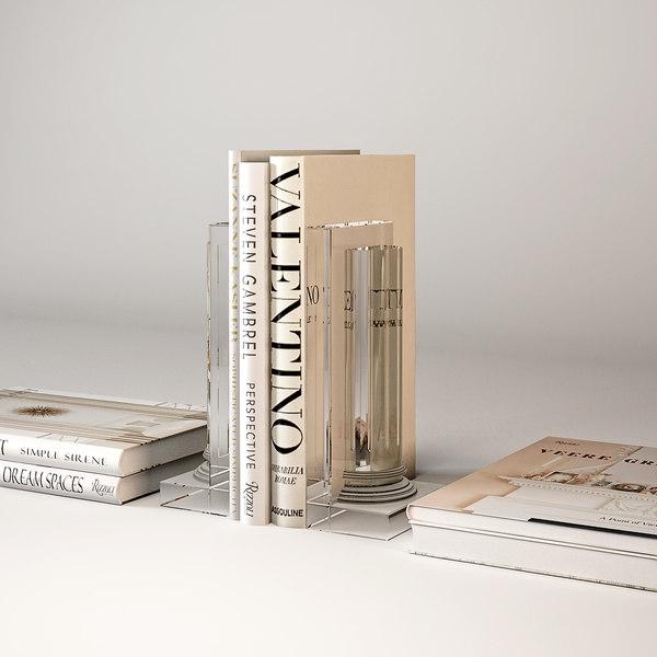 3D eichholtz holder books elite model