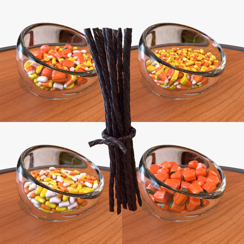 3D jelly halloween candy