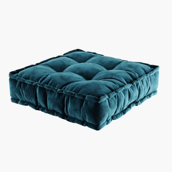sofa futon pillow 3D model