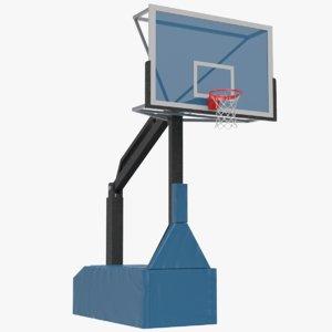 basketball rim goal 3D model
