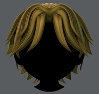 hair style boy v33 model