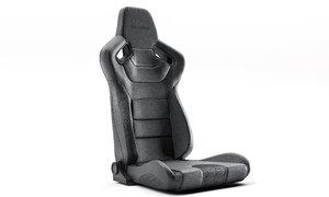 3D braum racing seat