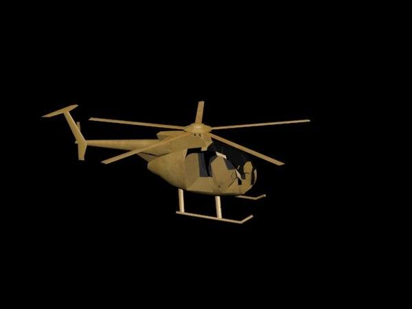 3D model halicapter