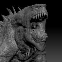 sculpt fantasy creature 3D