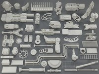 Kit bash(52 pieces) - collection-10