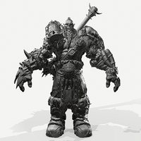 orc zbrush 3D model