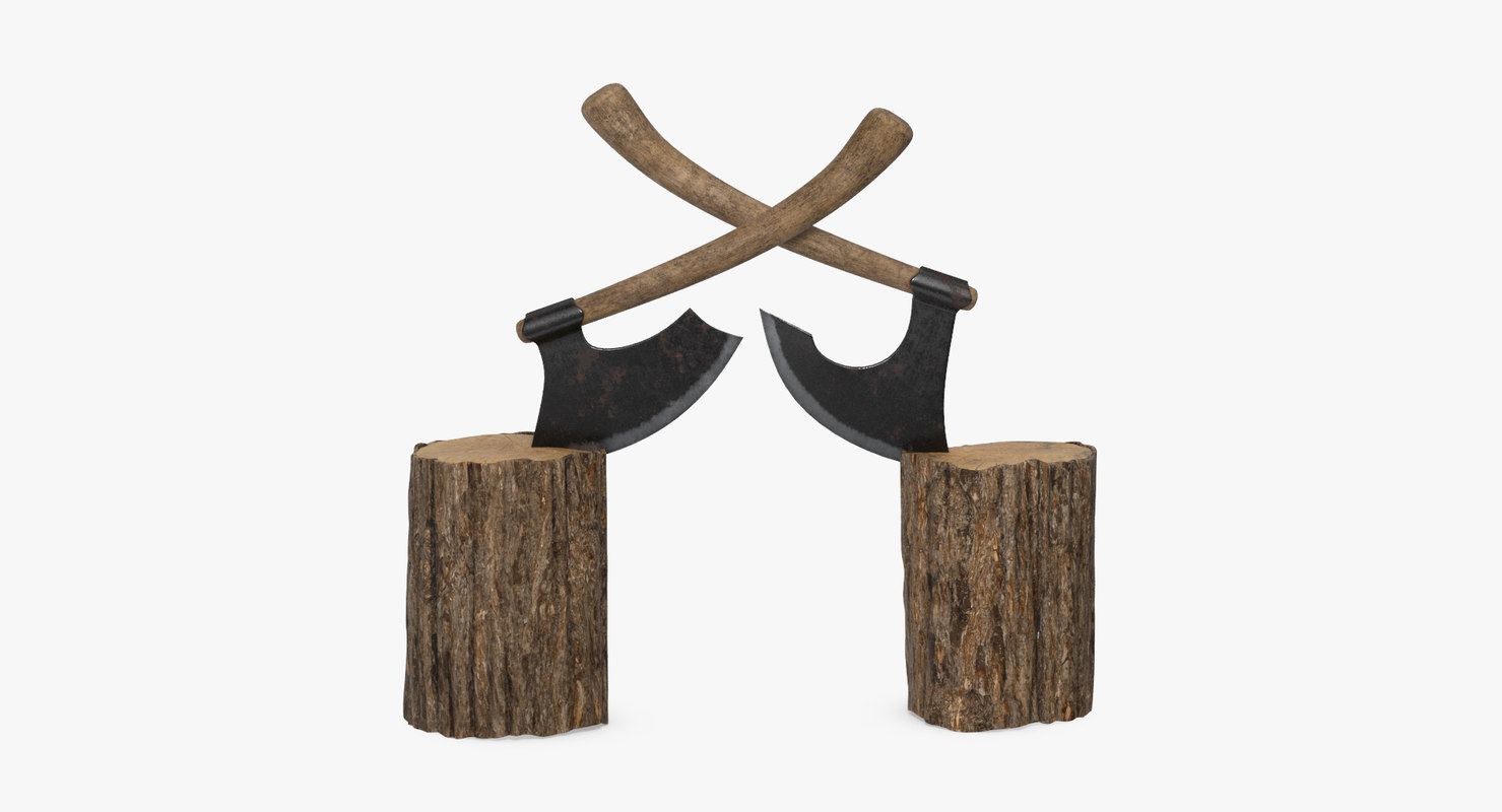 3D logs axes
