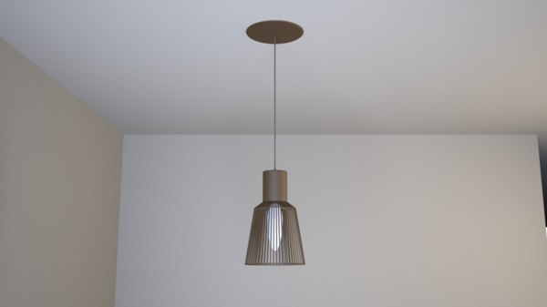 3D wooden lamp ceiling