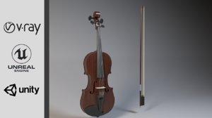 violin bow model