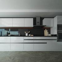 3D kitchen scandinavian