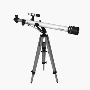 3D model 60mm telescope