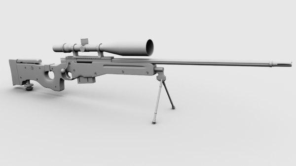 awp l96 g22 3D model