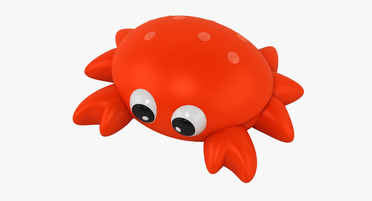 3D crab toy