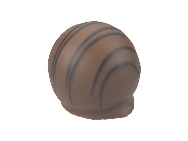 photorealistic scanned praline 3D model
