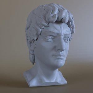 3D head david