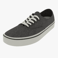 black shoes vans trainer