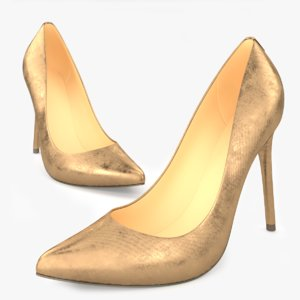 women s shoes 3D model