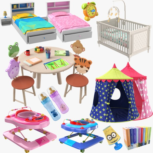 3D kids furniture