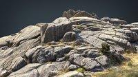 mountain rocks 4 3D model