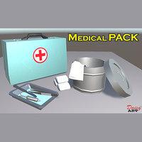 pack medical 3D model