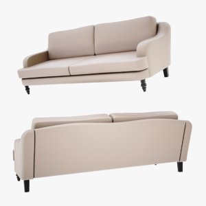 lightwave sofa mirar 3D model