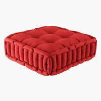 futon pillow 3D