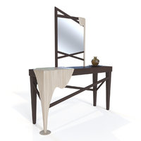 console table mirror 3D model
