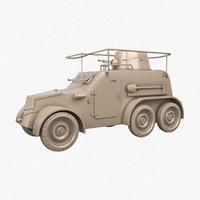 oa vz 30 armoured car 3D
