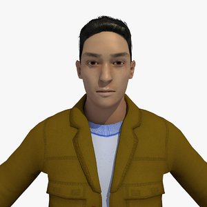 3D model realistically 25 year old