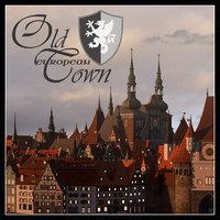 3D old european town