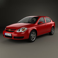 3D model chevrolet cobalt 2004