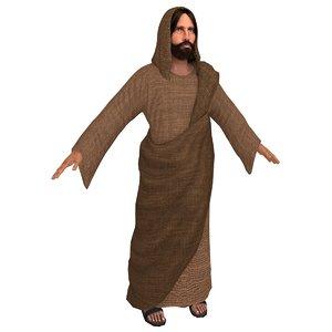3D jesus christ real model