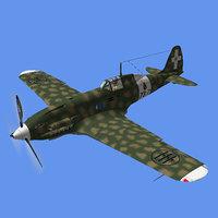 3D macchi 202 model