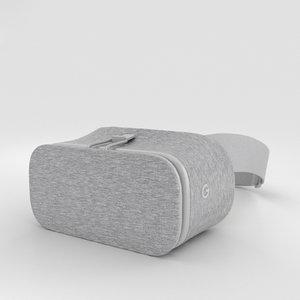 google daydream view 3D