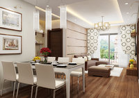 3D apartment-livingroom celling-light model