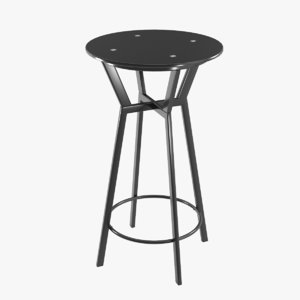 3D modern bar table