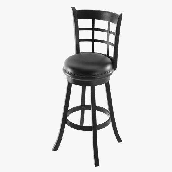 bar chair 3D