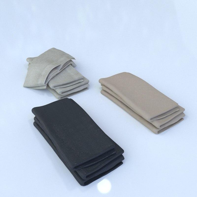 3D napkin