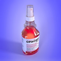 3D orasept spray medicine bottle
