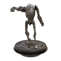 3D b2 super battle droid model