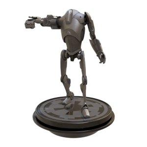 3D b2 super battle droid model