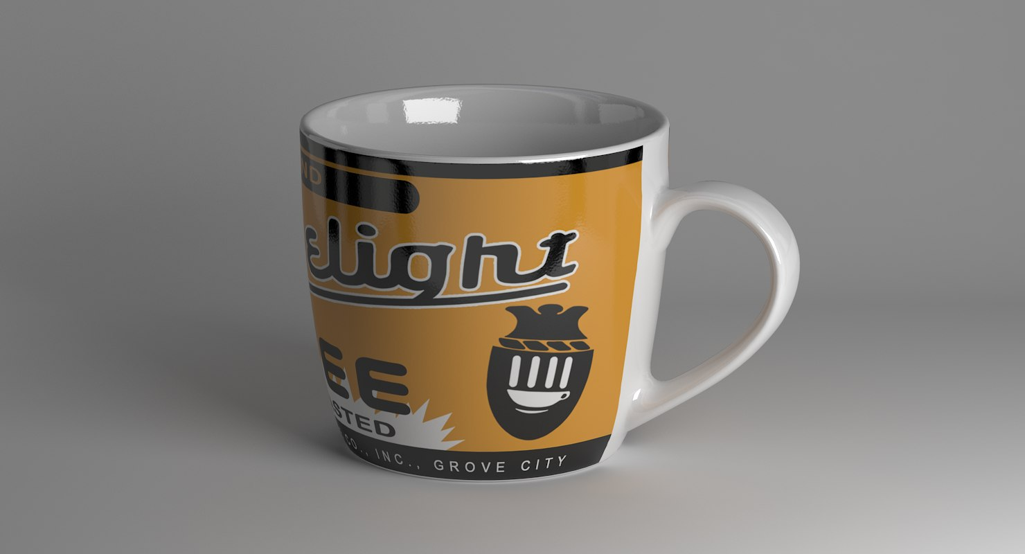 cup 3D