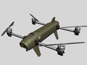 3D iai rotem quadcopter
