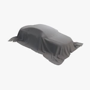 3D car fabric 03 model