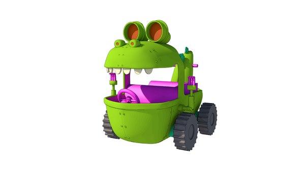 reptar wagon 3D