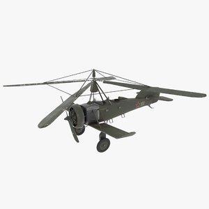 soviet gyroplane games 3D model
