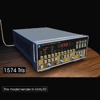 electronic pulse generator 3D model