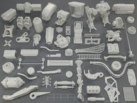 3D kit bashes - 55 model