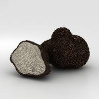 3D truffle model