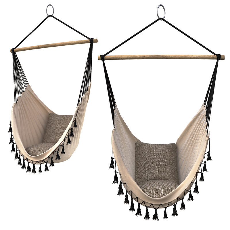 hammock provincial white 3D
